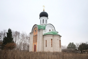 Архиерейское богослужение впервые совершено в селе Новодмитровка