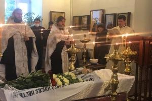 Состоялось отпевание и погребение протоиерея Николая Коваленко