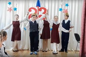 В Болховской православной гимназии отметили День защитника Отечества