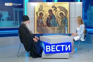 Совет превечный: праздник Святой Троицы. «Утро с митрополитом Тихоном»