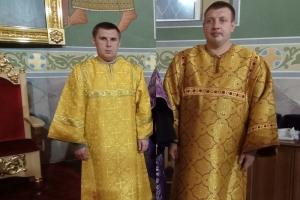 Инвалиды детства стали алтарниками в Смоленском храме Орла