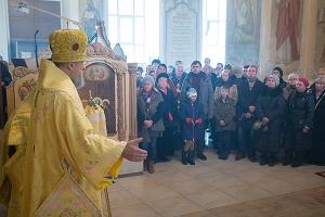 В Неделю 22-ю по Пятидесятнице митрополит Антоний возглавил литургию в Богоявлен