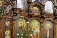 В канун Недели по Рождестве Христовом митрополит Орловский и Болховский Тихон совершил всенощное бдение в храме святой Матроны Московской в Северном районе города Орла. 11 января 2020 г.