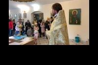 Первая детская литургия в храме Иверской иконы Божией Матери. 11 октября 2020 г.