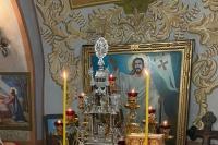 В Неделю по Рождестве Христовом митрополит Орловский и Болховский Тихон совершил Литургию в Христорождественском храме Болхова. 10 января 2021 г.