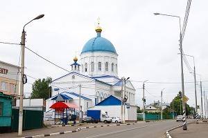 Свято-Никольский храм п. Кромы